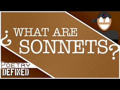 SONNETS | #PoetryDefined