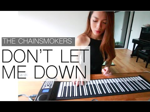 The Chainsmokers - Don't Let Me Down l Piano Cover