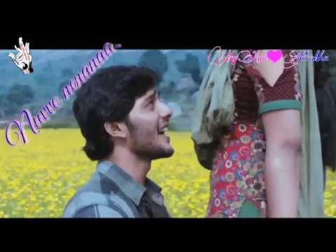 Best Telugu Love Song   Neeku Naaku Dash Dash Movie   Nuvve Nenanaa Song   Nanditha   Lyrical Song