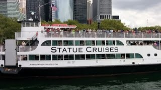Ferry ride to the Statue of Liberty and Ellis Island with Statue Cruises (New York, USA)