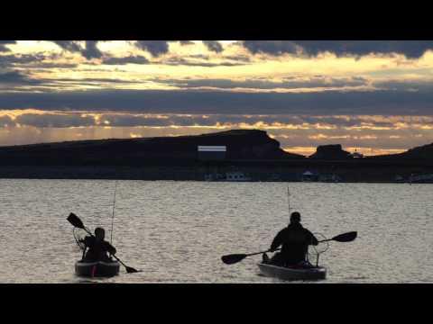 Kayak Fishing Potholes, Mardon Resort, Walleye And Perch