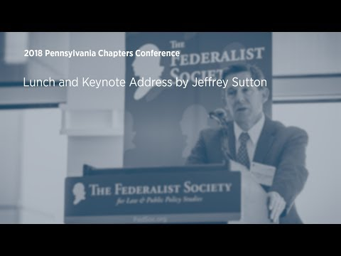 Lunch and Keynote Address [2018 Pennsylvania Chapters Conference]