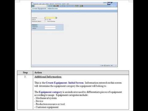 SAP Asset Management Configuration & Implementation Process Flow