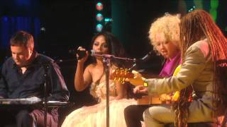 "Cyndi Lauper and Lil Kim perform ""Time After Time"" at Mandela Day 2009 from Radio City Music Hall"