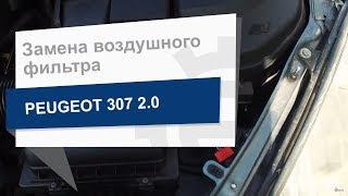 Замена воздушного фильтра WIX WA9526 на Peugeot 307