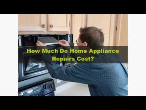 How Much Should Appliance Repair Costs?