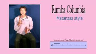 Rumba columbia from Matanzas Free lesson by Michael de Miranda