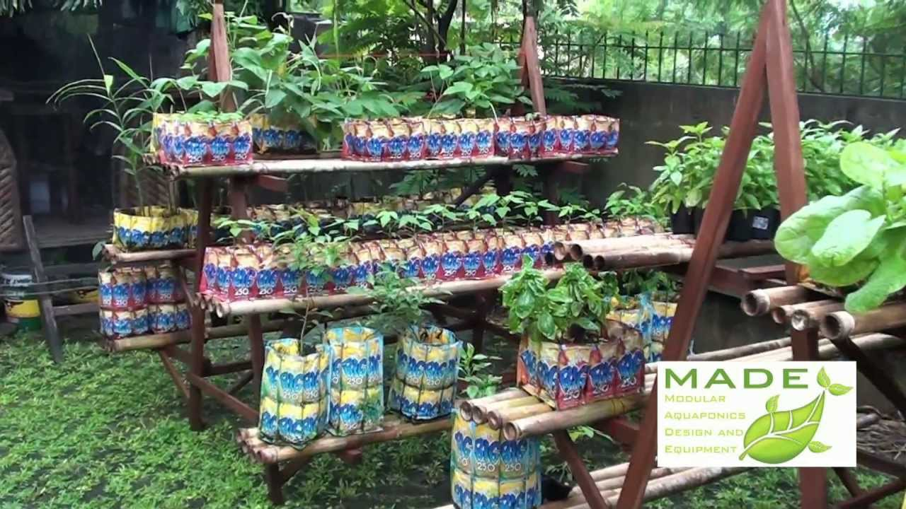 Aquaponic urban vertical garden philippines garden ftempo for Garden design ideas in philippines