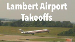 Plane Spotting at Lambert St. Louis Airport