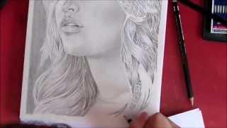 Jennifer Lawrence speed drawing