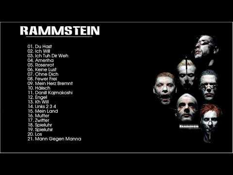 Rammstein Greatest Hits  Best Of Rammstein Songs Hot Music