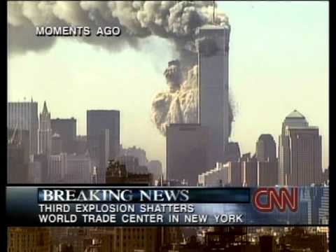 9/11 WTC demolition - two most seditious screen-texts about the 'third explosion' by CNN