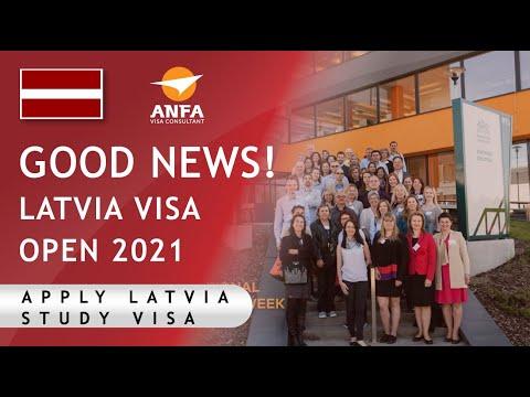 Good news Latvia visa open again || Apply study visa of Latvia 2021 || Anfa visa consultant