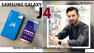 SAMSUNG GALAXY J4 UNBOXING & REVIEW