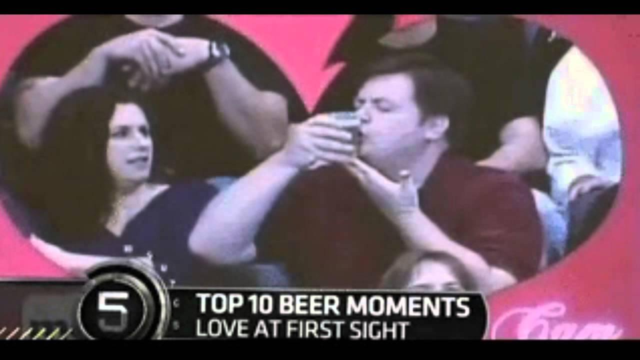 Guy loves his beer