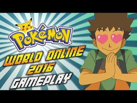 Pokemon World Online 2016 Gameplay