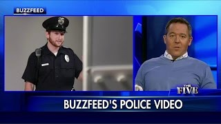 Gutfeld Rips BuzzFeed's 'Cowardly' 'Men Try On a Police Uniform' Video