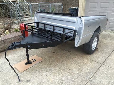 Off road truck bed trailer body work youtube How to buy a bed