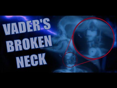 Vader's Broken Neck?!?!?
