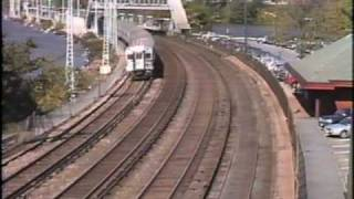 Metro North,  Amtrak at Scarborough and Ossining NY, 1990s