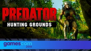 Predator: Hunting Grounds - FULL Presentation | Gamescom 2019| Opening Night Live