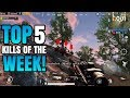 Top 5 Squad Kills Of The Week! | PUBG Mobile