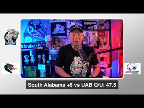 South Alabama vs UAB Thursday 9/24/20 Free College Football Pick and Prediction  CFB Tips