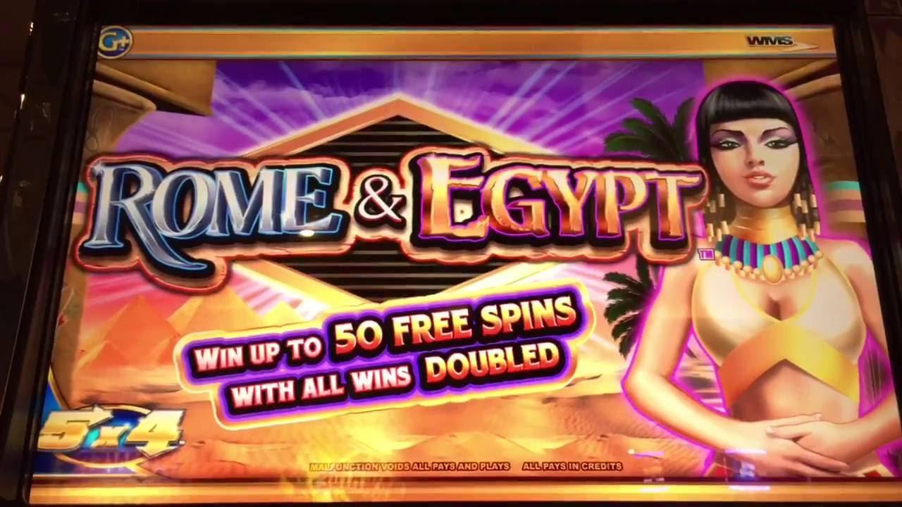 Rome & Egypt Slot Machine Free