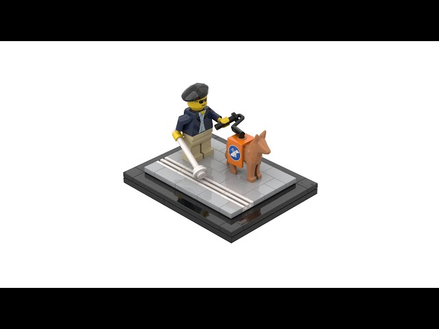 LEGO® Guide Dog with Instructions