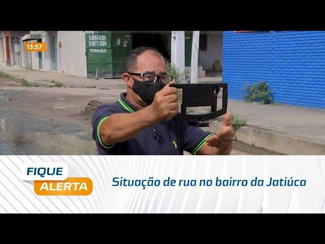 Fique Alerta Vem na Minha Rua: Situação de rua no bairro da Jatiúca