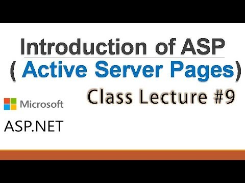 Introduction of ASP ( Active Server Pages)   CODER BABA #9