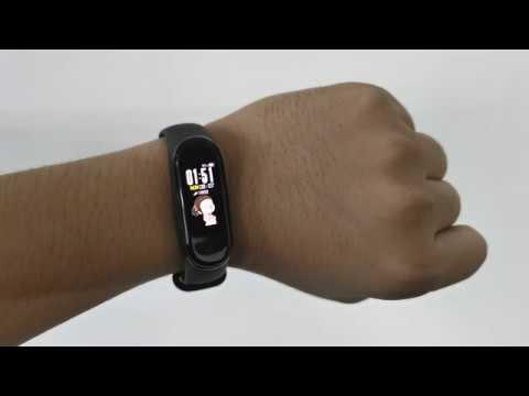 MI Band 4 (Custom Watch Face)