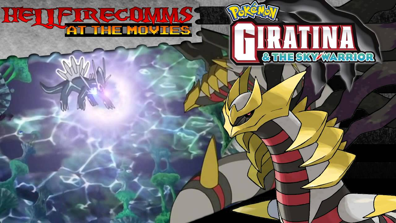 Giratina And The Sky Warrior Audio Commentary Youtube