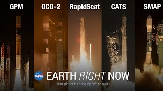 Earth Right Now: Year One In Review