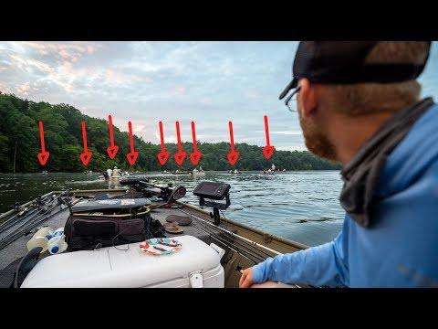 Summer JON BOAT Fishing Tournament || When The Fish Go DEEP