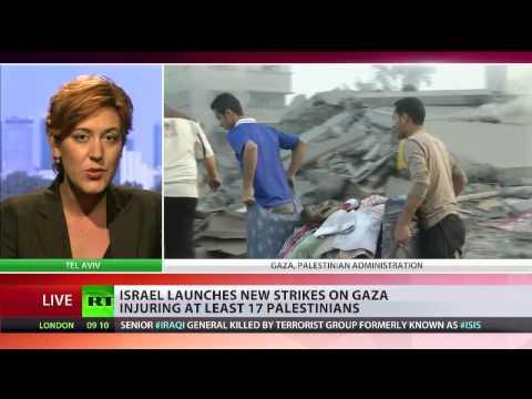 Israel mulls Gaza ground op, rocket barrages intensify   YouTube 720p