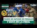 Resumen América 2 (3) - (5) 2 Tigres | Semifinal Leagues Cup | TUDN