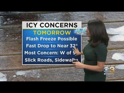 Philadelphia Weather: Timing Tuesday's Winter Weather