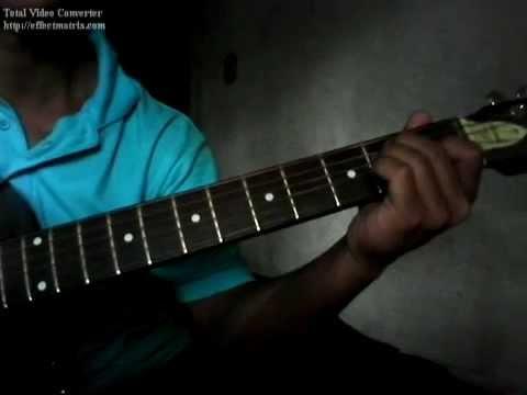 Guitar chords of bhagwan pk movie by anindo mekhele