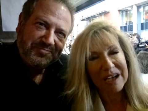 David Fleeshman & Sue Jenkins at Ghost premiere