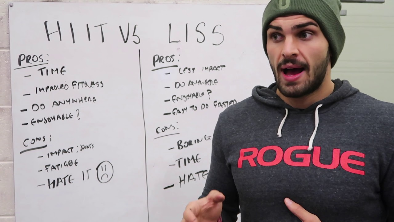 What is the best form of Cardio? HIIT VS LISS - YouTube