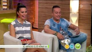 Janicsák Veca a lányáról: ˝nem akarom, hogy celebgyerek legyen˝ - tv2.hu/fem3cafe