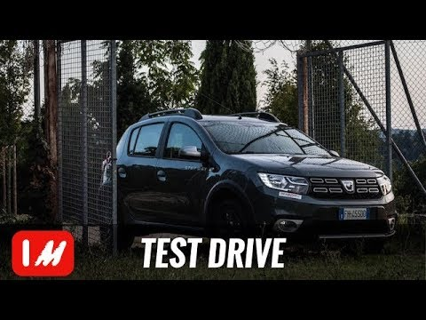 test drive dacia sandero 2017 a gpl youtube. Black Bedroom Furniture Sets. Home Design Ideas