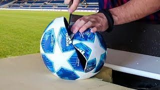 Cosa c'è all'interno del pallone della Champions League?