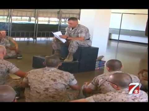 Inside Look at Marine Boot Camp