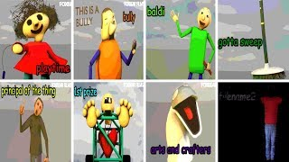 - All Characters Voices v1.3.2 Baldi s Basics in Education and Learning NEW