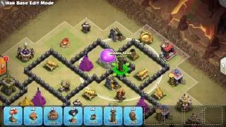 HOW TO MAKE UP TRAP PLACEMENTS FOR TH8 ENEMY WAR BASES | Base Polishing #2