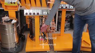 Обзор распылителей порошковой краски Тесла   Federal