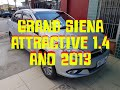 GRAND SIENA ATTRACTIVE 1.4 ANO 2013