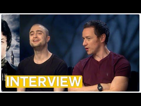 Victor Frankenstein -  Daniel Radcliffe & James McAvoy | exklusives Interview (2016)